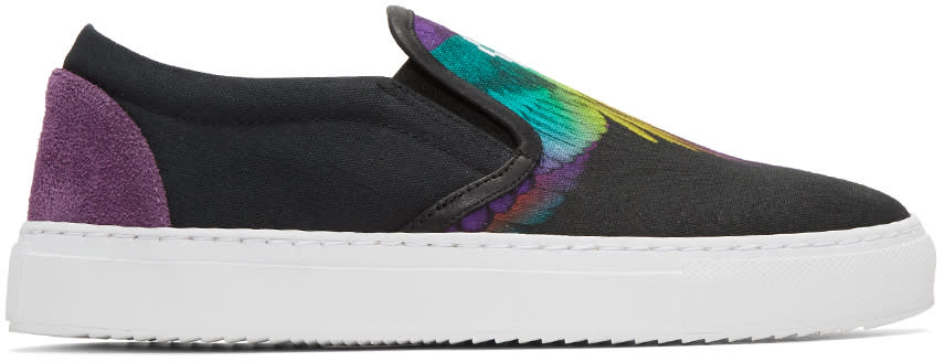 Marcelo Burlon County Of Milan Multicolor Akie Slip-on Sneakers