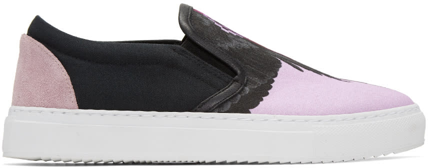 Marcelo Burlon County Of Milan Multicolor Enrika Slip-on Sneakers