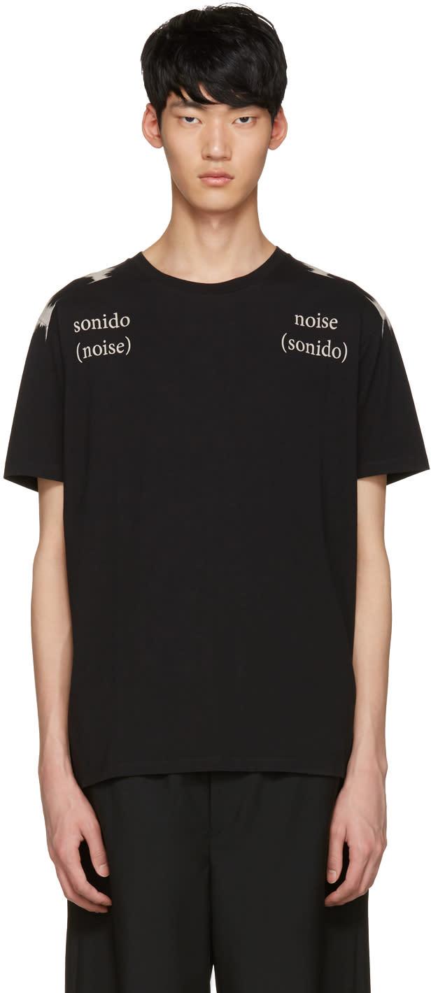 Marcelo Burlon County Of Milan Black Placido T-shirt