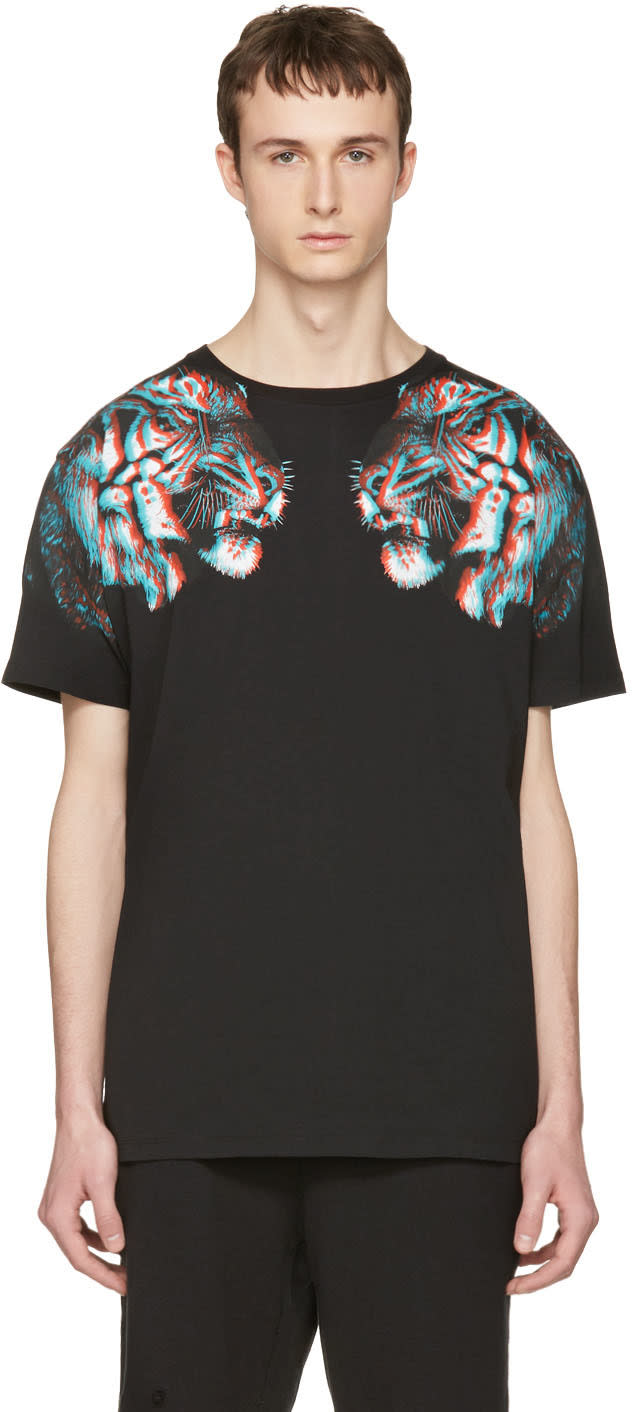 Marcelo Burlon County Of Milan Black Tajo T-shirt