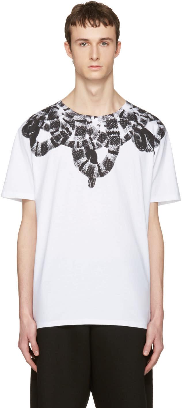 Marcelo Burlon County Of Milan White Leonardo T-shirt