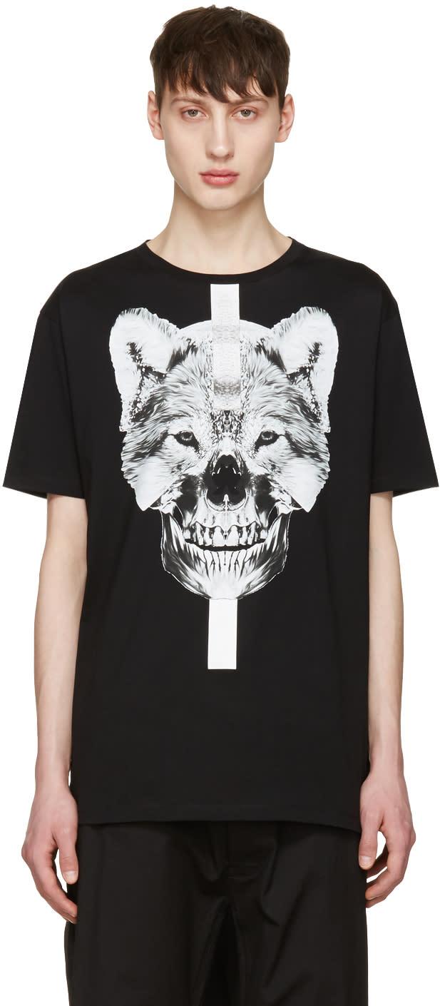 Marcelo Burlon County Of Milan Black Moises T-shirt