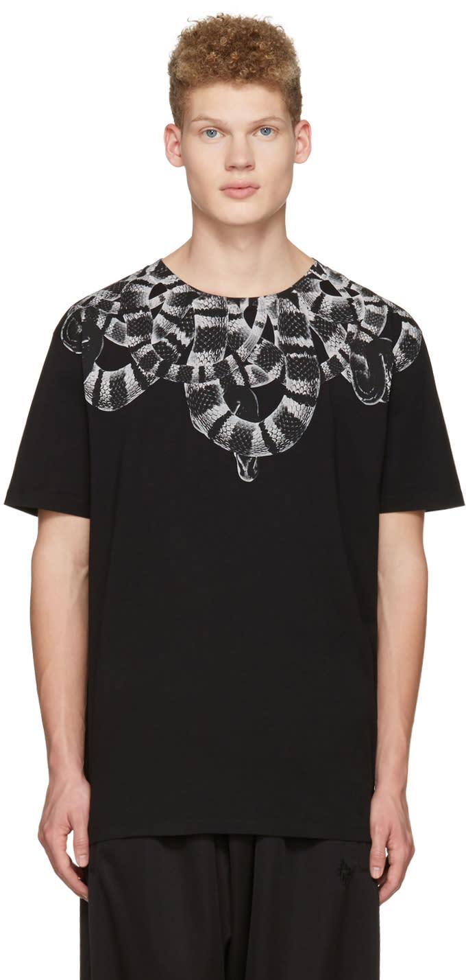 Marcelo Burlon County Of Milan Black Leonardo T-shirt