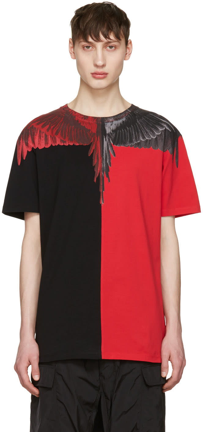 Marcelo Burlon County Of Milan Red Paz T-shirt