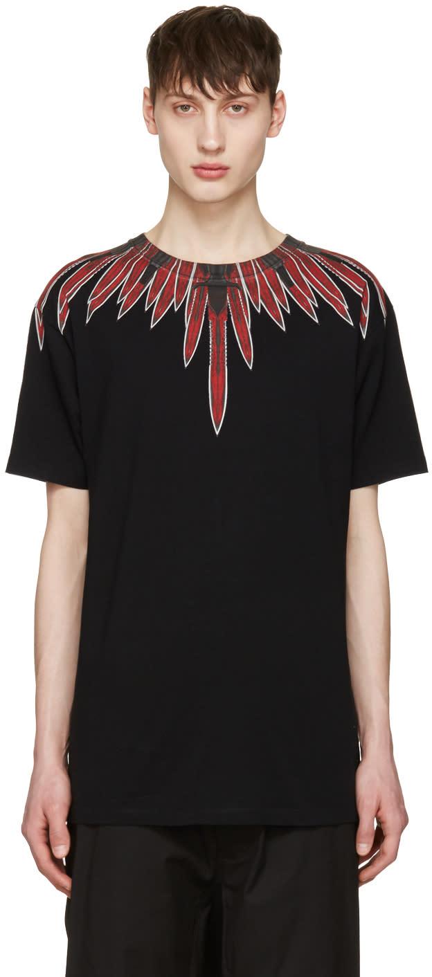 Marcelo Burlon County Of Milan Black Teodoro T-shirt