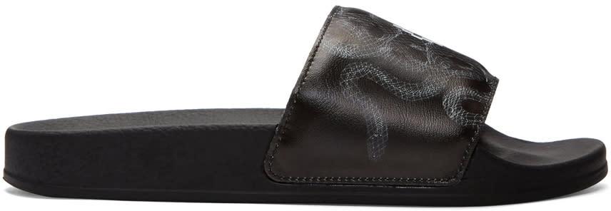 Marcelo Burlon County Of Milan Black Essie Sandals