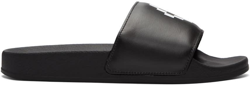 Marcelo Burlon County Of Milan Black Giulia Sandals