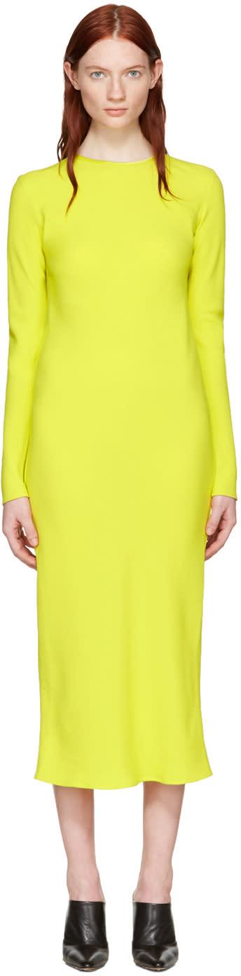 Haider Ackermann Yellow Bias Dress