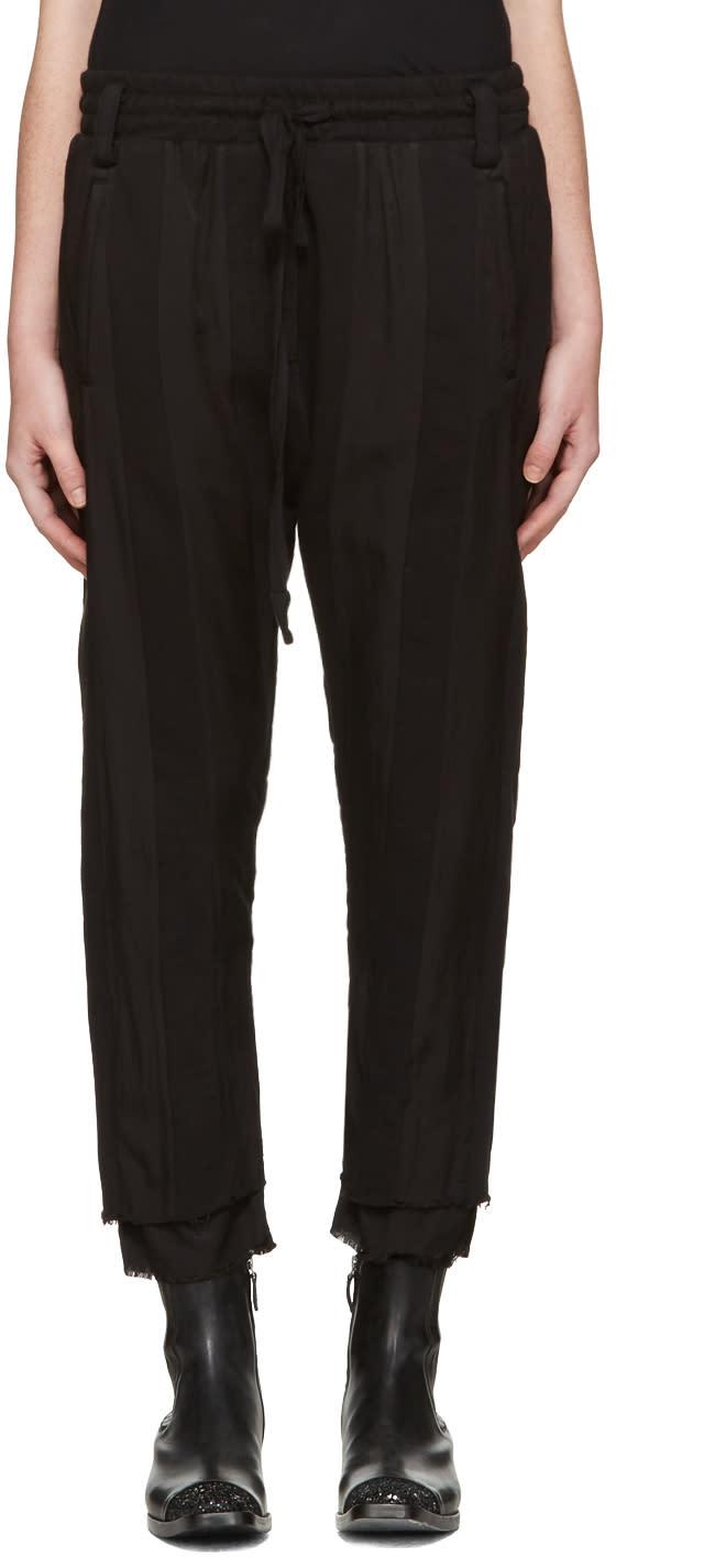 Haider Ackermann Black Polonium Lounge Pants