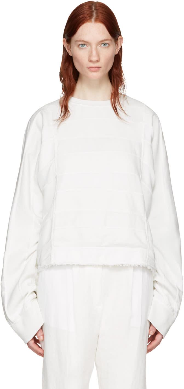 Haider Ackermann Off-white Polonium Pullover