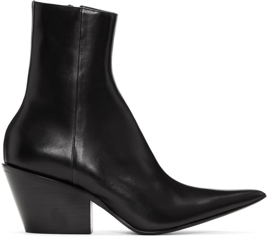 Image of Haider Ackermann Black Chunky Boots