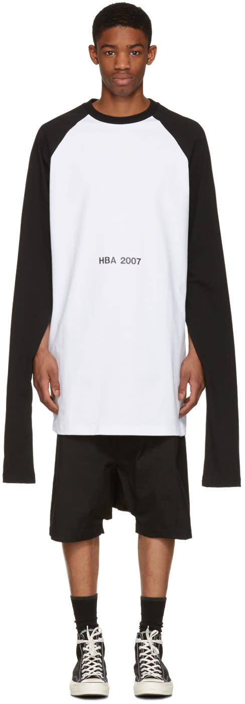 Hood By Air White 2007 Oversized Overnight Pullover