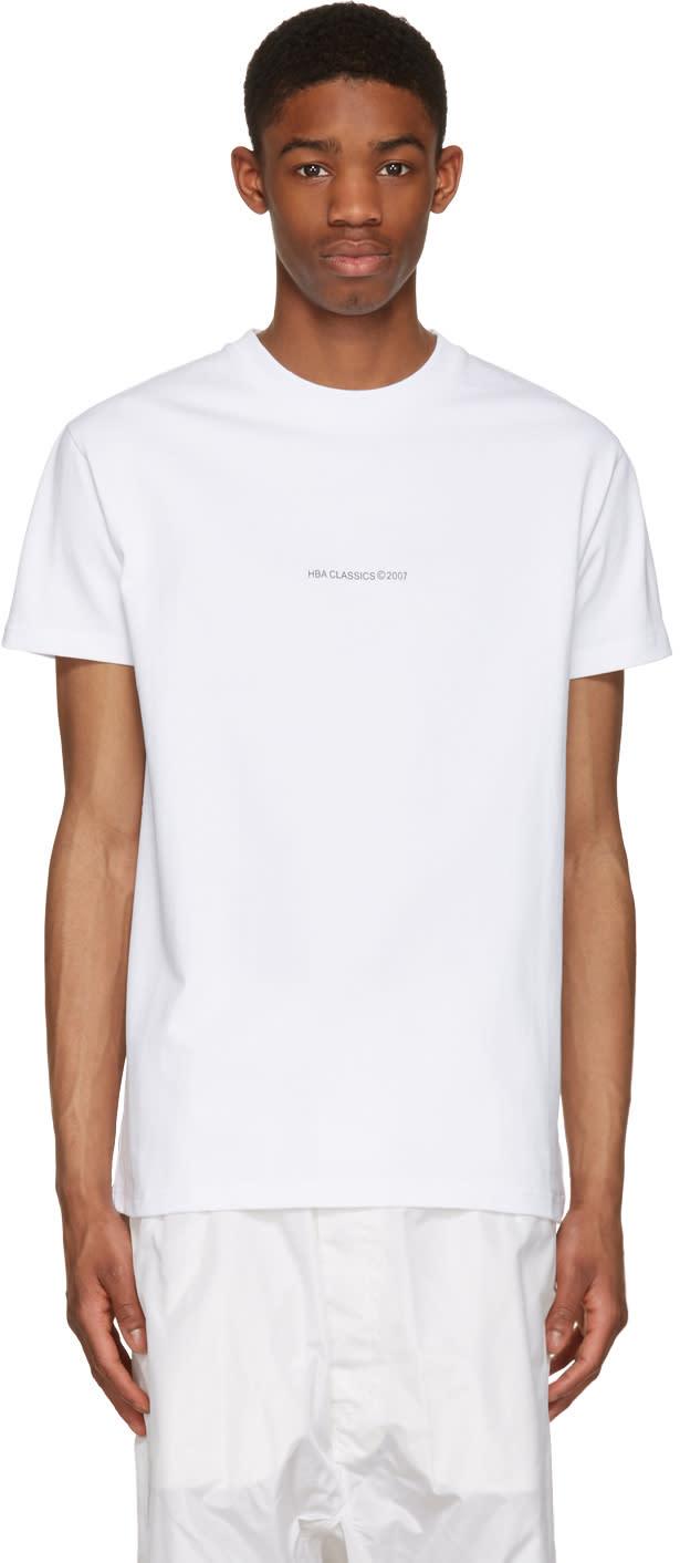 Hood By Air White 2007 T-shirt