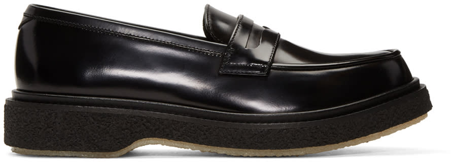 Image of Adieu Black Type 5 Loafers
