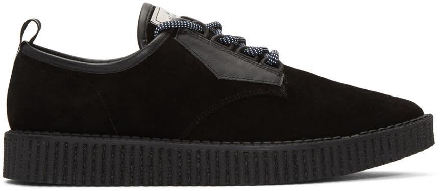 Miharayasuhiro Black Creeper Sneakers