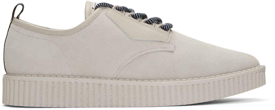 Miharayasuhiro Grey Creeper Sneakers