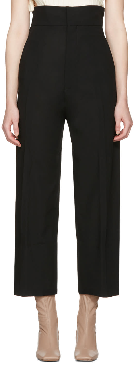 Jacquemus Black le Pantalon Santon Trousers