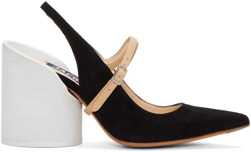 Jacquemus Black les Chaussures Nimes Heels