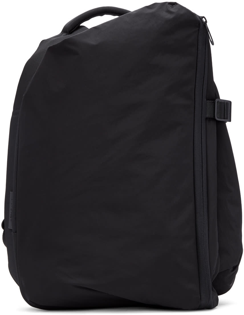 Image of Côte and Ciel Black Small Isar Memory Tech Backpack