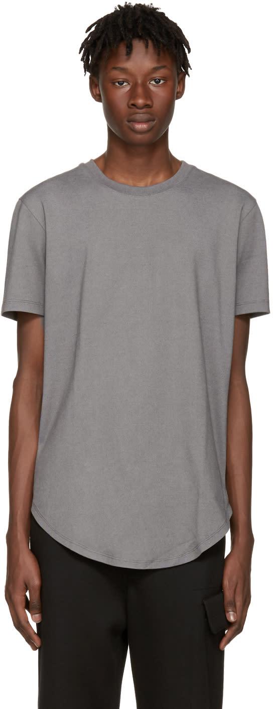 Image of Pyer Moss Grey Ryan T-shirt