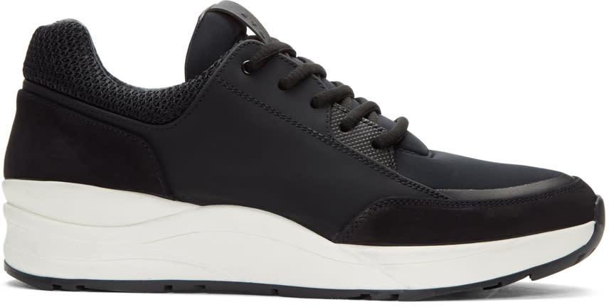 Etq Amsterdam Black Vortex Sneakers