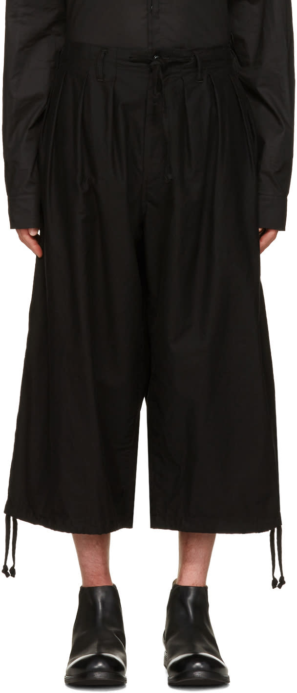 Yohji Yamamoto Black Balloon Trousers