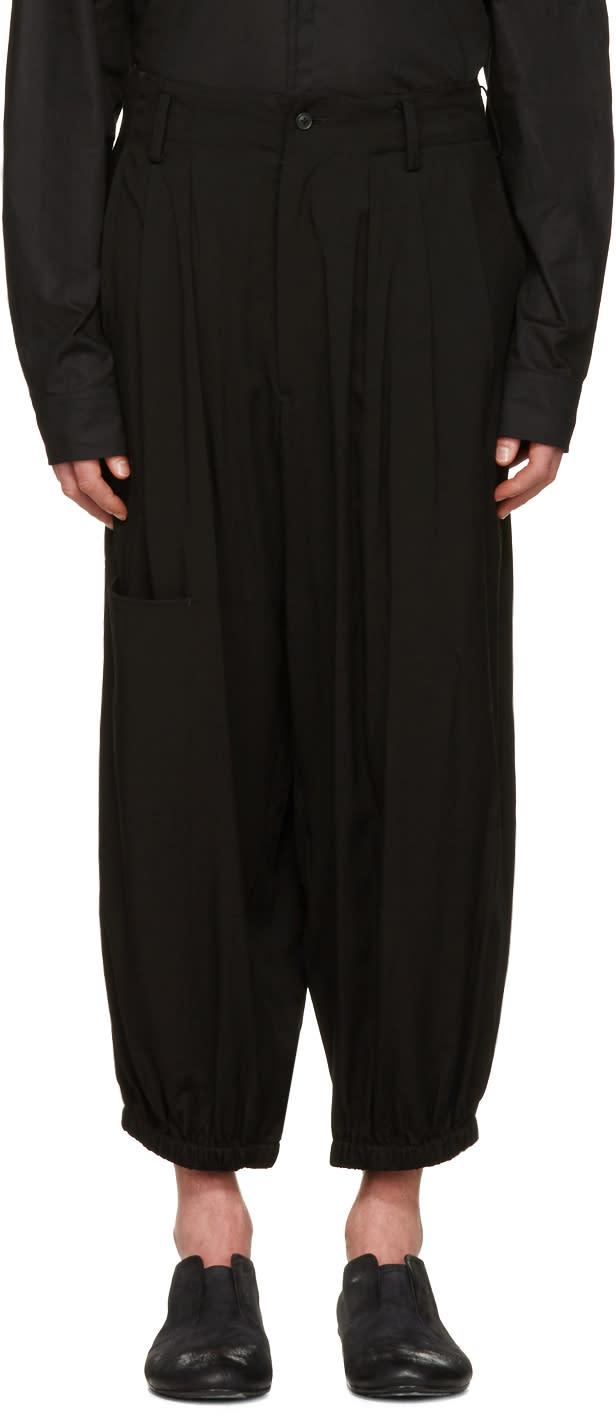 Yohji Yamamoto Black Jogging Trousers