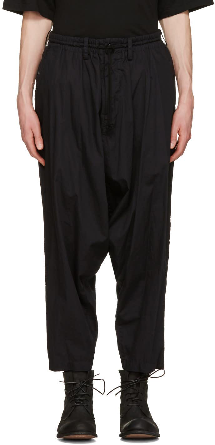 Yohji Yamamoto Black Sarouel Trousers