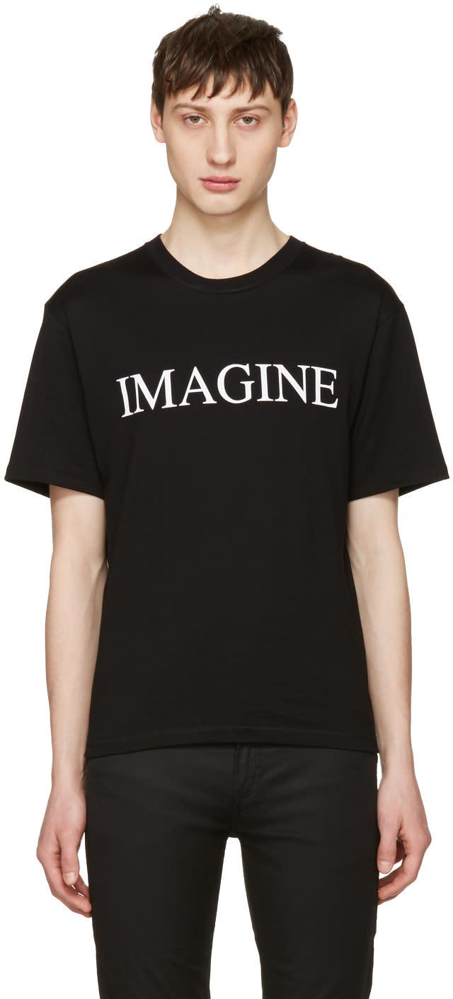 Image of Christian Dada Black imagine T-shirt