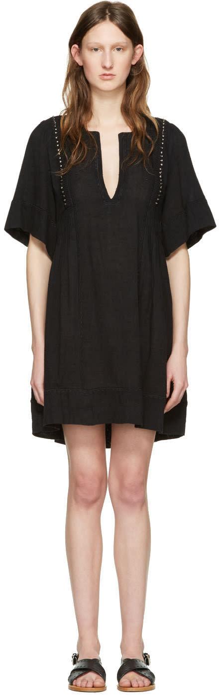 Isabel Marant Etoile Black Anabel Tunic
