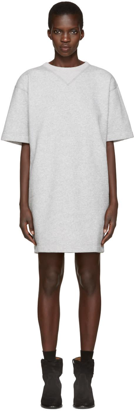 Isabel Marant Etoile Grey Byrony Dress