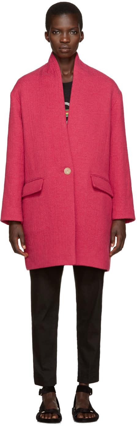 Isabel Marant Etoile Pink Edilon Coat