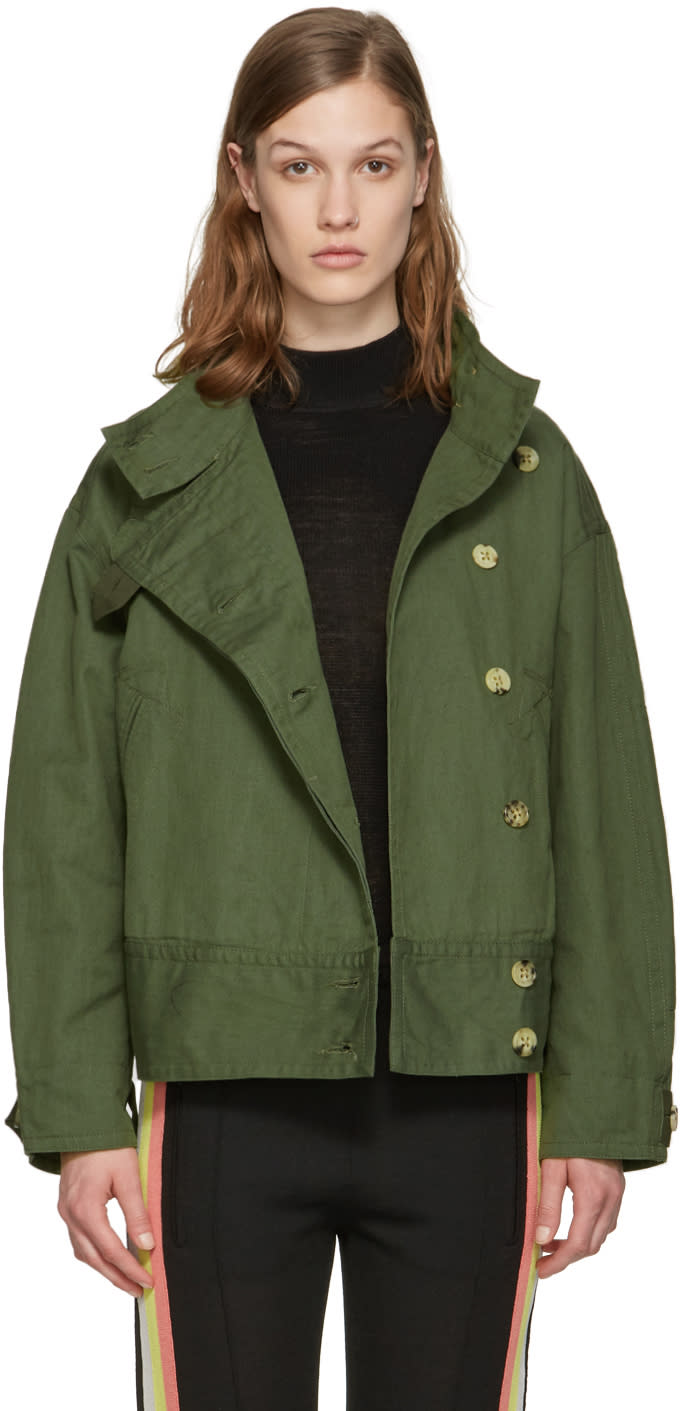 Isabel Marant Etoile Green Ira Jacket