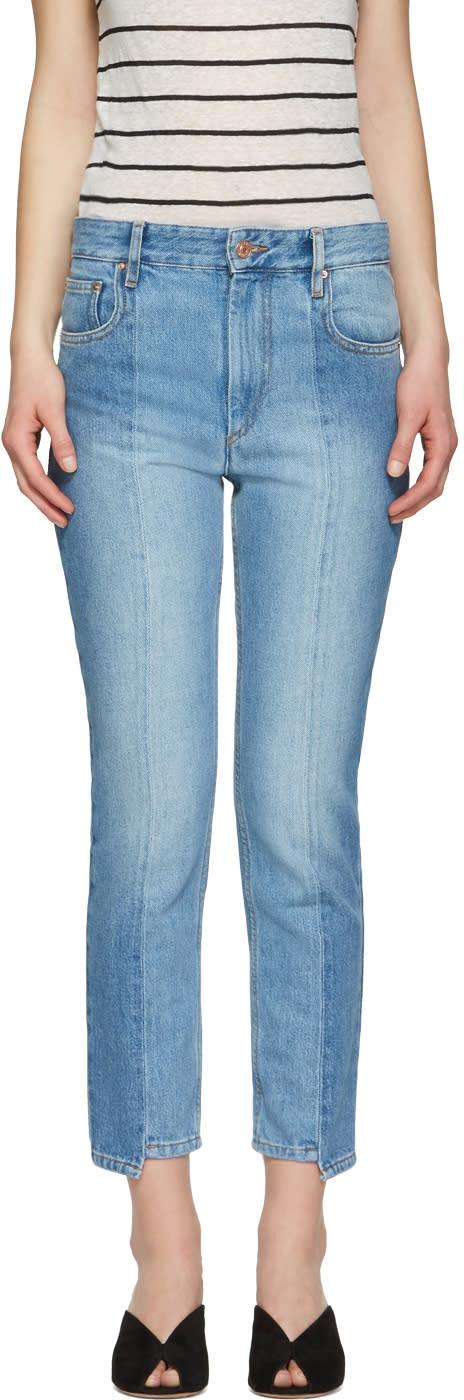 Isabel Marant Etoile Blue Clancy Jeans