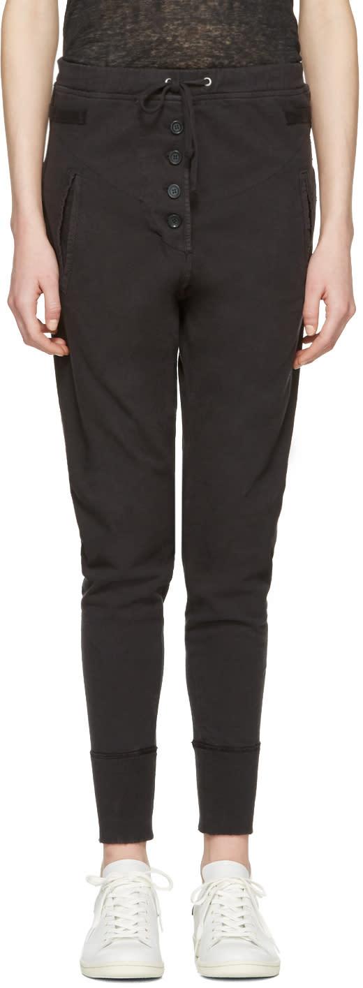 Isabel Marant Etoile Black Angele Lounge Pants