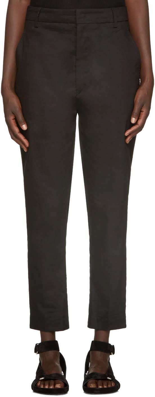 Isabel Marant Etoile Black Nydia Trousers
