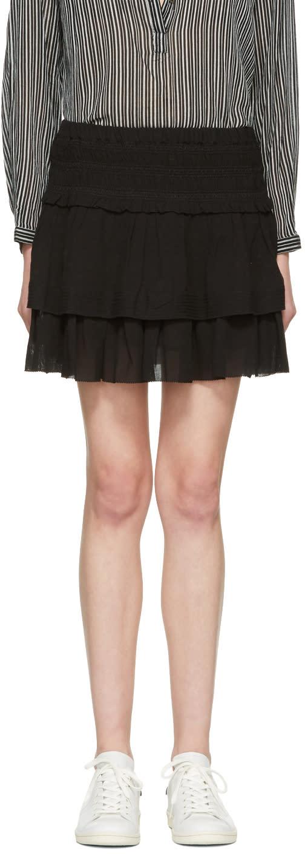 Isabel Marant Etoile Black Kamelie Miniskirt