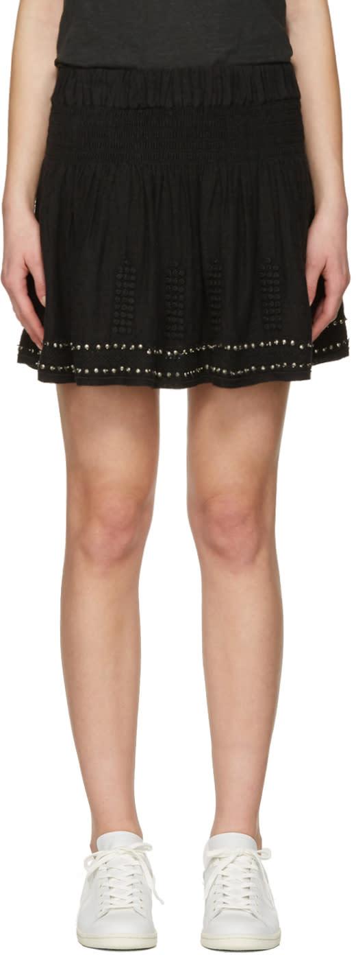 Isabel Marant Etoile Black Alea Miniskirt