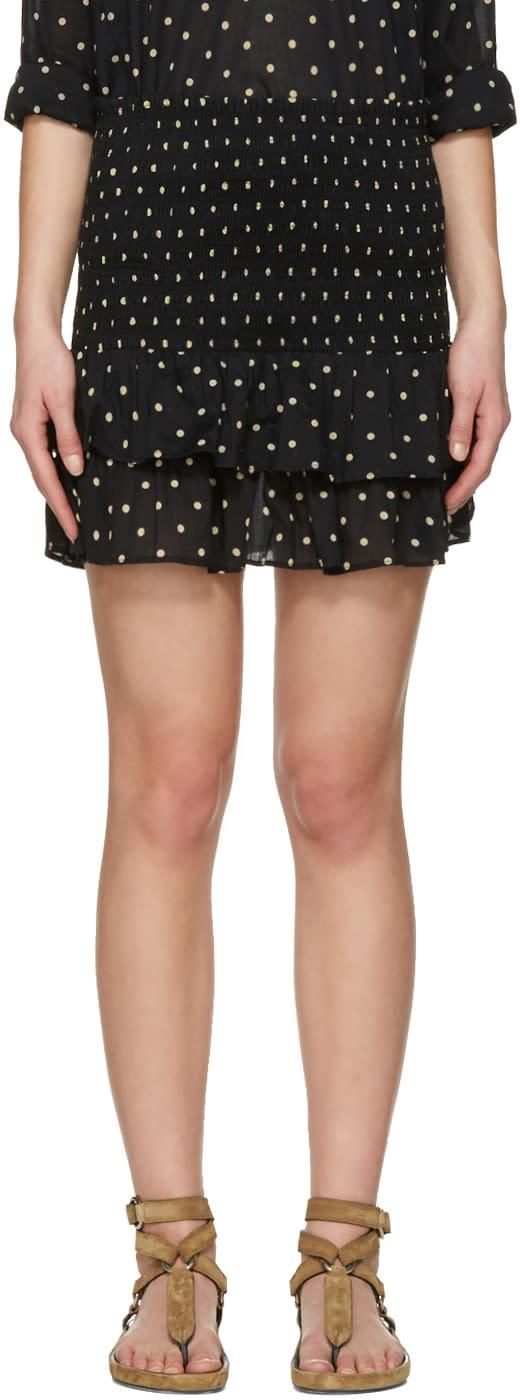 Isabel Marant Etoile Black Malfos Miniskirt