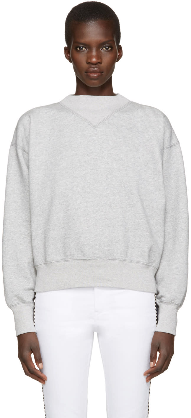 Isabel Marant Etoile Grey Bailee Pullover