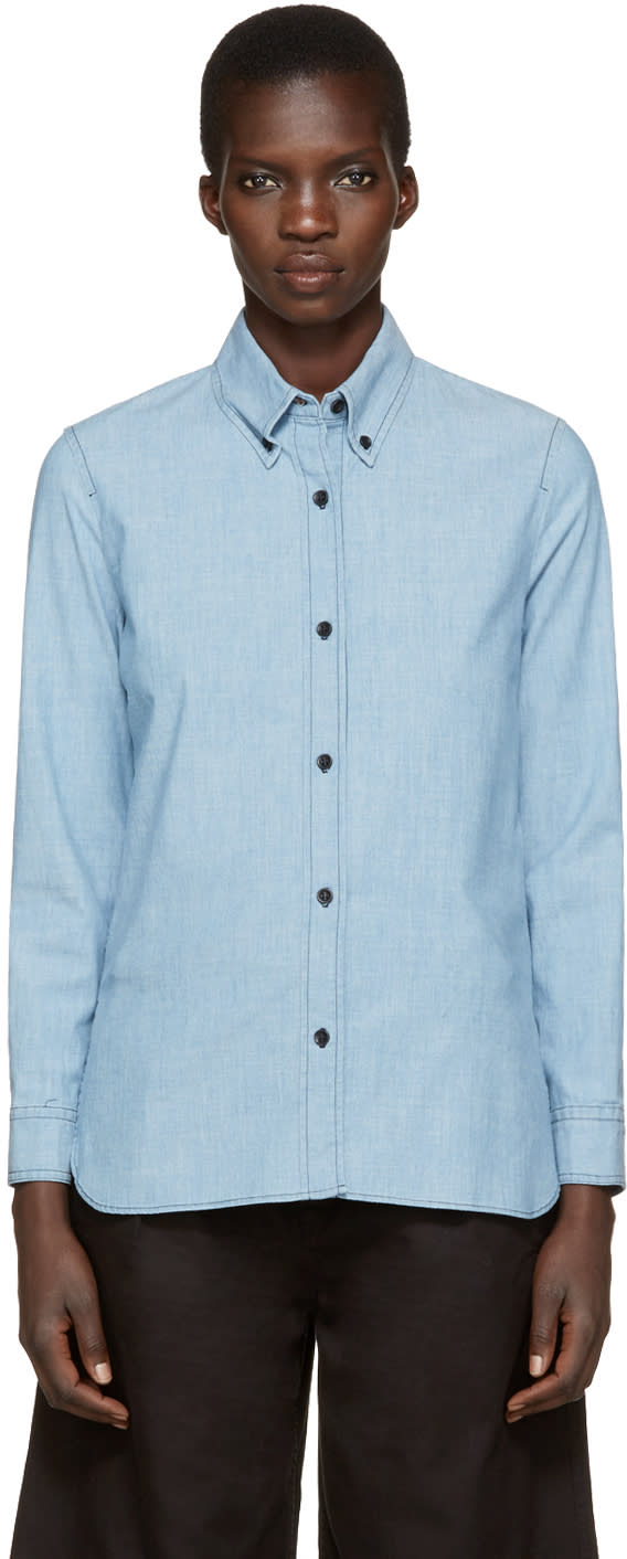 Isabel Marant Etoile Blue Denim Abylon Shirt