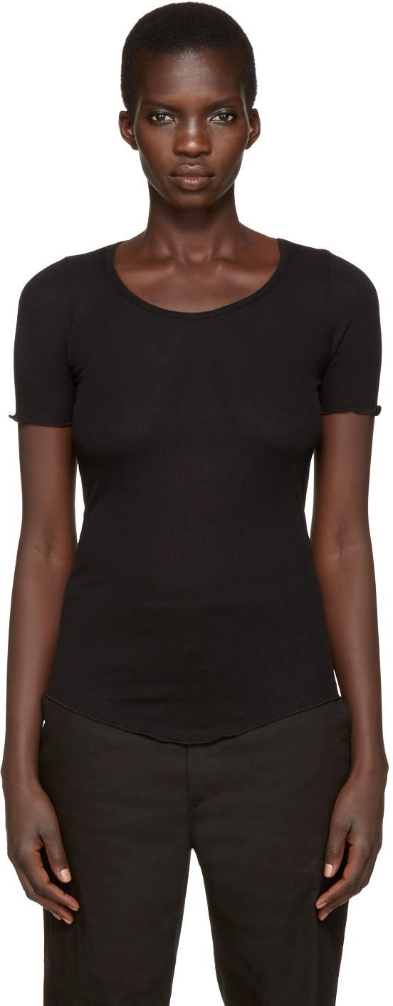 Isabel Marant Etoile Black Luceo T-shirt