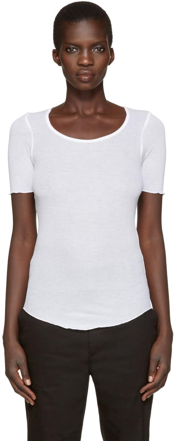 Isabel Marant Etoile White Luceo T-shirt