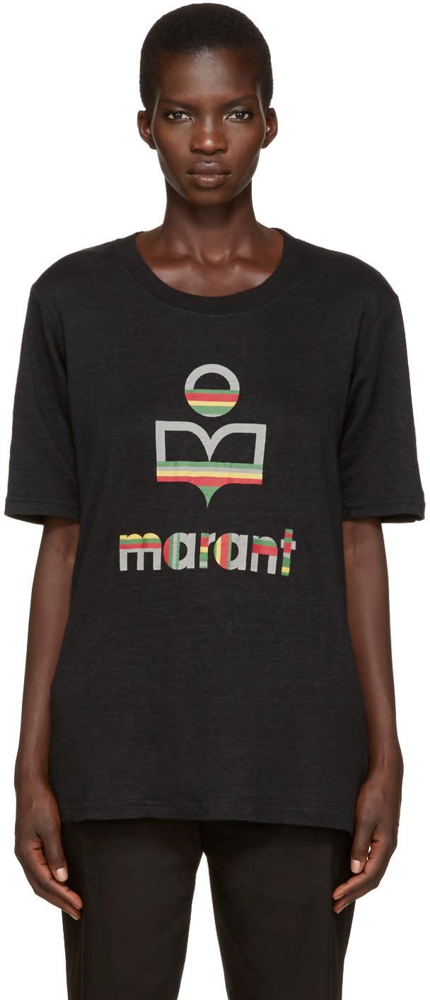 Isabel Marant Etoile Black Kendriwa T-shirt