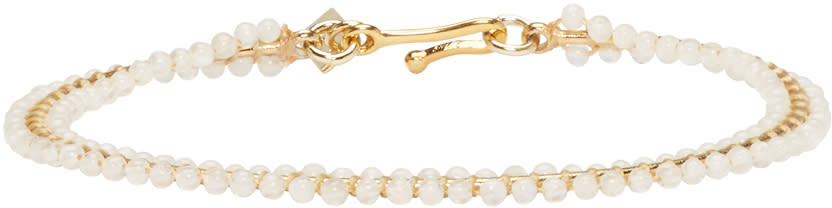 Isabel Marant Gold Beaded Aston Bracelet