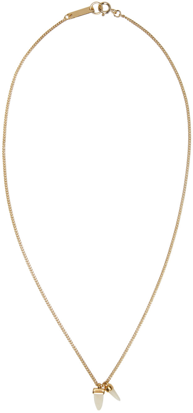 Isabel Marant Gold its All Right Necklace
