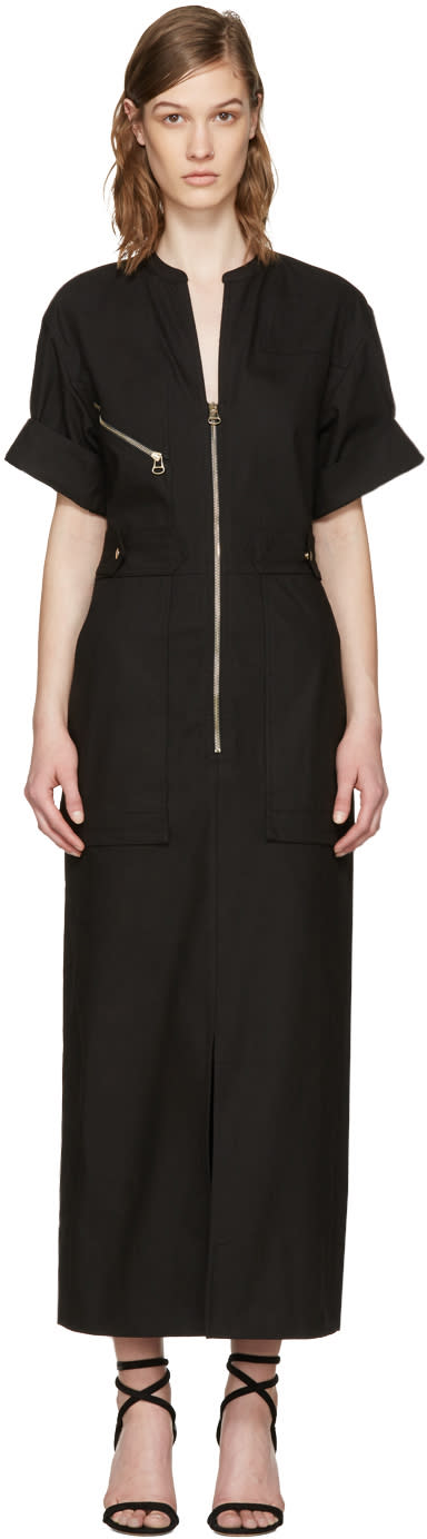 Isabel Marant Black Workwear Toby Dress