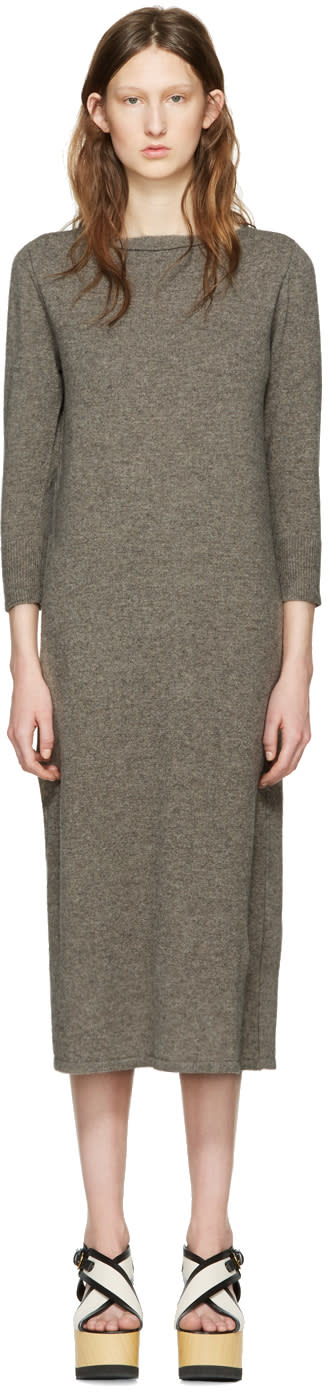 Isabel Marant Grey Cara Knit Dress