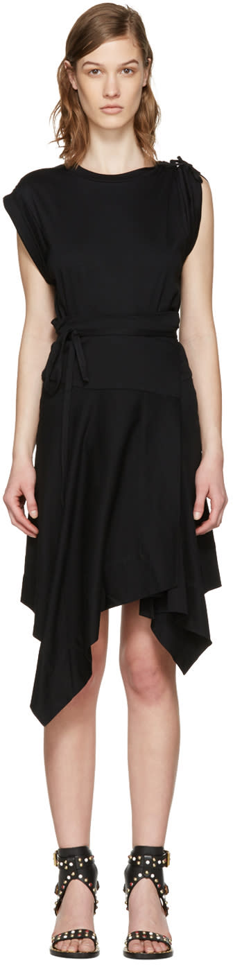 Isabel Marant Black Loko T-shirt Dress