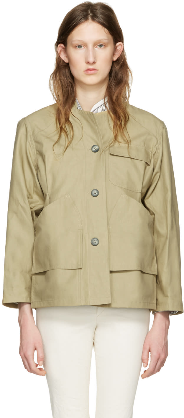 Isabel Marant Beige Sacha Easy Chic Jacket